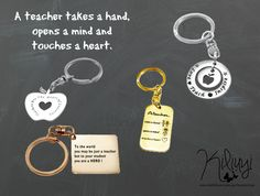 A teacher takes a hand, opens a mind and touches a heart.