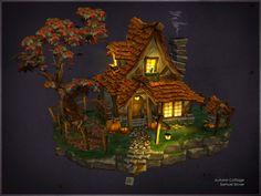 ArtStation - Autumn Cottage, Samuel Slover