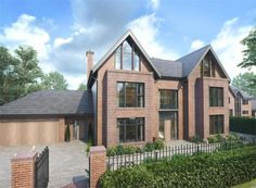 5 bedroom detached house for sale in 1 Burnthwaite Hall, Old Hall Lane, Lostock, Bolton, - Rightmove. Dream Home Design, House Design, Building Design, Building A House, House Plans Uk, Old Style House, Octagon House, House Extension Design, Dream House Exterior