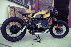 This amazing BMW was reportedly built by a fellow named Rodney Aguiar, who has worked for Roland Sands. It's a BMW R80 given the bobber treatment, and the detailing is exquisite—from the blacked-out boxer engine and mechanicals to the way the coil of the monoshock… Read more »