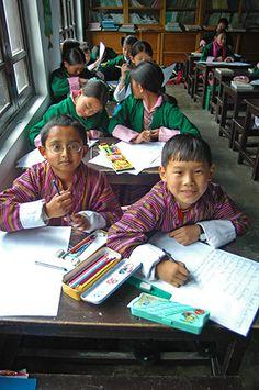 School in Thimphu Bhutan