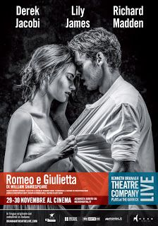 Claudia Grohovaz: ROMEO E GIULIETTA diretto da Kenneth Branagh dal G...