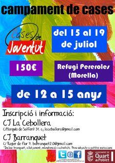 Campament a Morella a Juliol 2013 http://quartjove.quartdepoblet.es/index.php/campament-a-morella-juliol-2013/