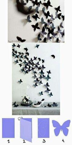 Diy papillons... ...