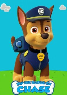 Pin the Badge on Chase Paw Patrol Custom Inspired Game for Birthday Party, http://www.amazon.com/dp/B00JW7EH42/ref=cm_sw_r_pi_awdm_piyfub1RREKAM