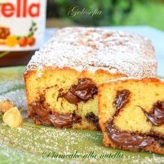 Plumcake alla nutella-ricetta dolci-golosofia