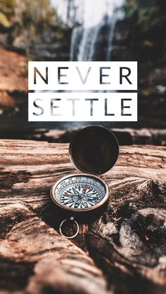 """Direction you need when you are not a """"Settled one"""" Wallpaper Iphone Quotes Backgrounds, Colourful Wallpaper Iphone, Apple Logo Wallpaper Iphone, Hipster Wallpaper, Dark Wallpaper, Mobile Wallpaper, Never Settle Wallpapers, Cool Lock Screen Wallpaper, Oneplus Wallpapers"""