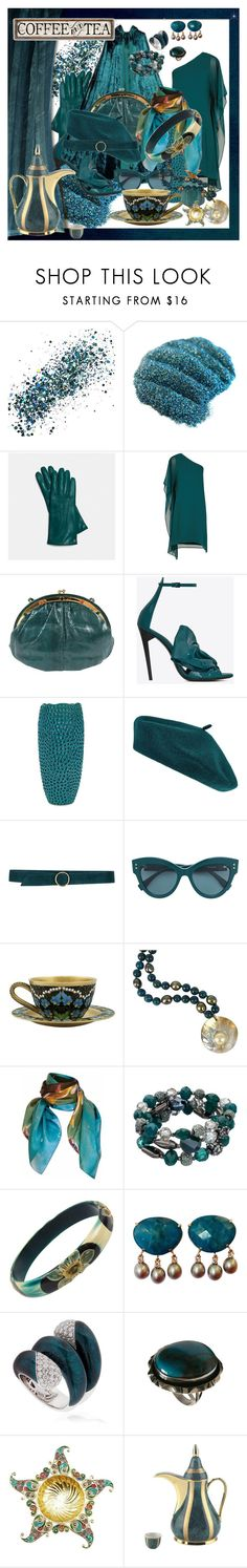 """""""7809 - out of the office"""" by suburbhater ❤ liked on Polyvore featuring SkinCare, Coach, BCBGMAXAZRIA, Judith Leiber, Yves Saint Laurent, Accessorize, Carla G., Sagebrook Home, Decadent Jewels and Pam Weinstock London"""