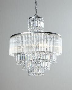 Rossborough Eight-Light Crystal Chandelier at Neiman Marcus.
