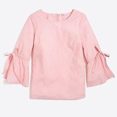 a2f072b6bcb6 Bow-sleeve top search Guardaroba Estivo, Abbigliamento Per Il Weekend,  Vestiti Per Le