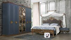 Retova Ahşap Yatak Odası