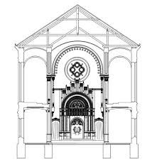 synagogue plan architecture - Google Search