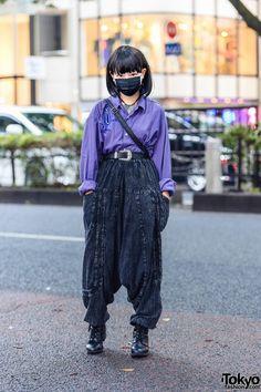 Japan Street Fashion, Tokyo Fashion, Harajuku Fashion, Fashion News, Harajuku Girls, Ladies Fashion, Asian Street Style, Tokyo Street Style, Tokyo Style