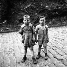Young Al Capone with his Brother Vinny: Photographers, Street Photos, Vivian Maier,
