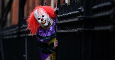 The creepy character has filmed himself wandering out villages as he asks people to 'come out and play'