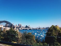 Sydney Harbour. Great view, even better company