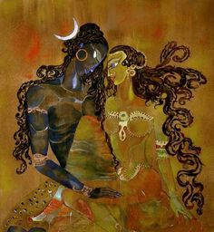 Shiva Shakti,when you control your mind with peace and energy.