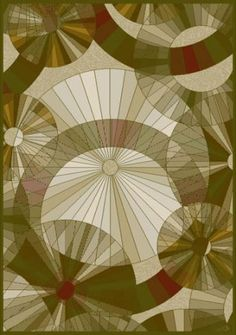 Art Deco Office Rug -- love love love! This would make a nice quilt too!