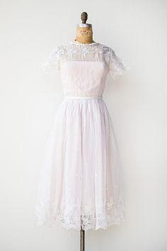 vintage 1950s dress | First Romance Dress