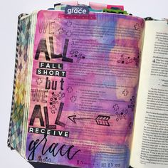 Bible journaling, Romans 2:23-24 — Arden Ratcliff-Mann #illustratedfaith