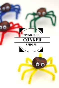 DIY no-glue conker spiders | Wolves in London