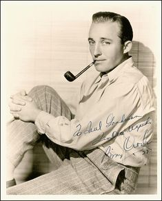 Bing Crosby Pipe shape? :: Pipe Talk :: Pipe Smokers Forums