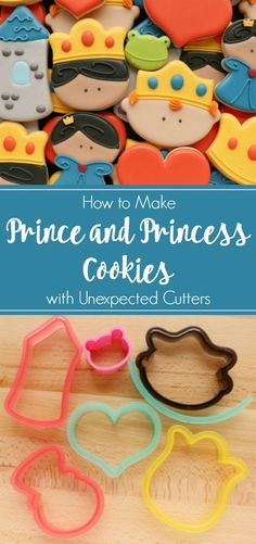 Free Prince and Princess themed Cookie Decorating Templates – The Sweet Adventures of Sugar Belle
