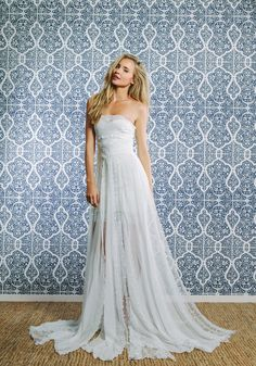gorgeous floaty wedding dress Jagger + Dotti ‹ Grace Loves Lace Grace Loves Lace