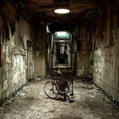Abandoned hospitals for the insane