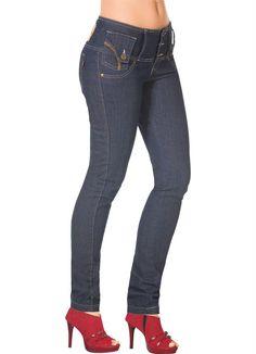 Calça Jeans Feminina Azul Escuro