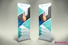 Business Roll Up Banner - v017 by Creatricks on @creativemarket