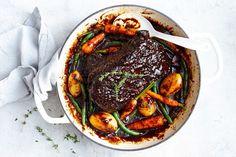One-pot honey barbecue beef brisket