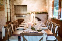 Photography: Hunter Ryan Photo - hunterryanphoto.com   Read More on SMP: http://www.stylemepretty.com/living/2016/12/09/a-cozy-candlelit-holiday-gathering/