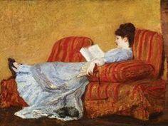 Woman Reading, Mary Cassat