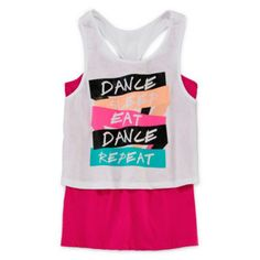 Xersion™ Layered Crop Top - Girls 7-16 and Plus  found at @JCPenney