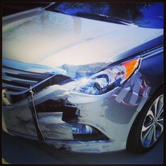 This car was literally being held together with #DuctTape when it came to us!