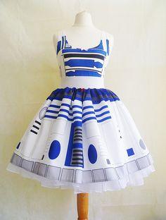 Drohne Skirt Cyborg-Kostüm PLUS Size's verfügbar von RoobyLane