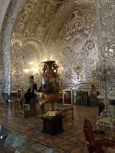 Hall of Mirror Golestan Palace Tehran Iran #NoFilter