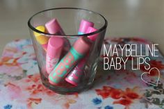 Keep lipsticks in a little cup for easy access