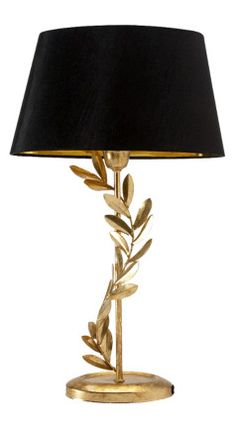 gold leaf lamp - I have two!! This is my room inspiration