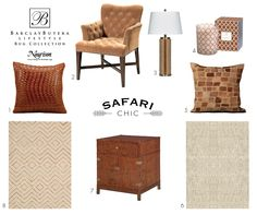 Create a safari chic
