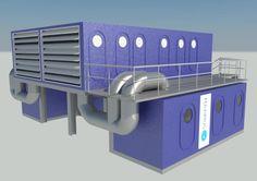 SKYH2O MAXIMUS Atmospheric Water Generator 50,000 litres of water per day. Design: Ziegler,December 2016 Atmospheric Water Generator, Energy Projects, Environmental Design, New Technology, Bookcase, Big, Green, Ideas, December