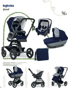 Inglesina quad 2015 sistema modulare Baby List, Baby Essentials, Quad, New Baby Products, Baby Strollers, Children, Baby Prams, Young Children, Boys