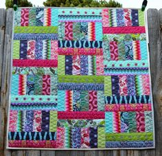 Jelly Roll Jam 2 with the Fat Quarter Shop!!! - Happy Quilting--love this fabric too