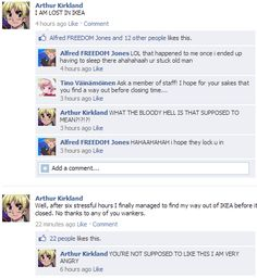 Hetalia where it shouldn't be  sorry for the bad words but I laughed soooo hard XDXDXD
