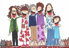 Christmas family doodle | Flickr - Photo Sharing!