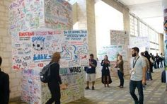 ImageThink's visual towers built from SXSWi talks