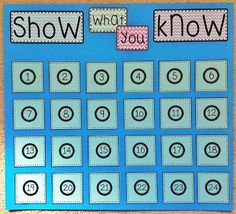Mrs. Heeren's Happenings: Show What You Know {Exit Slip} Poster - Free Printable