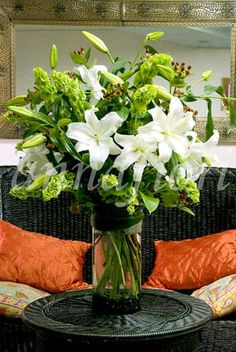 Serenidad, arreglo floral de condolencias