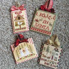 Priscillas: Finishing Stitchy Ornaments